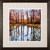 Art Effects Autumn Mosaic by Carl Gethmann Framed Photographic Print
