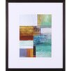 <strong>Art Effects</strong> Cosmopolitan Abstract I by W. Green-Aldridge Framed Graphic Art