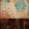 Art Effects Damask Patterns I by Wani Pasion Graphic Art on Canvas