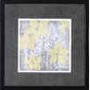 <strong>Art Effects</strong> Yellow and Gray I by Jennifer Goldberger Framed Painting Print