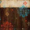 Art Effects Damask Patterns II by Wani Pasion Graphic Art on Canvas