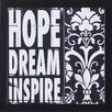 <strong>Art Effects</strong> 'Hope Dream Inspire' by Stephanie Marrott Framed Graphic Art