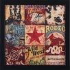 Art Effects Cowboy Collage Petite by Aaron Christensen Framed Vintage Advertisement