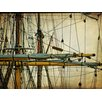 Art Effects Rigging II by Danny Head Photographic Print on Canvas