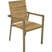 <strong>Hudson Furniture</strong> Highline Teak Stacking Arm Chair