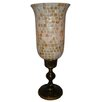 <strong>Mother of Pearl Bell Shape Hurricane Candle Holder</strong> by Heritage India Imports