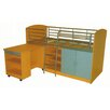 <strong>Combo Single Study Bunk Bed</strong> by By Designs