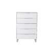 <strong>Estudio Furniture</strong> Miami Tallboy in High Gloss White