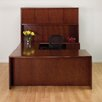 <strong>Sonoma U-Shape Bow Front Desk/Storage Office Suite</strong> by OSP Furniture