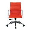 OSP Furniture Mid Back Eco Leather Conference Chair