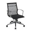 OSP Furniture Mid Back Mesh Conference Office Chair