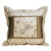 <strong>Melrose Home</strong> Valerie Square Flanged Pillow
