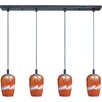 ET2 Carte 4 Light Kitchen Island Pendant
