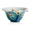 Peacock Splendor Decorative Bowl
