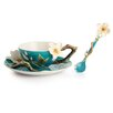 <strong>Van Gogh Flower Cup, Saucer and Spoon Set</strong> by Franz Collection