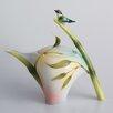 Franz Collection Bamboo Song Bird Teapot