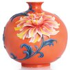 Franz Collection Exotic Peony Vase