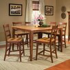 Bristol Point Ladderback Barstool in Honey and Chestnut