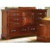 A-America Kalispell 8 Drawer Combo Dresser
