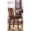 "<strong>Mesa 24"" Bar Stool with Cushion (Set of 2)</strong> by A-America"