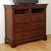 <strong>Kalispell 6 Drawer Media Chest</strong> by A-America