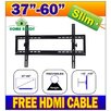 37-60 Slim LED/LCD/Plasma TV Wall Mount Bracket Home Ready
