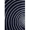 <strong>Ventura Sonar Black Modern Rug</strong> by Dynasty Rugs
