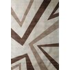 <strong>Amanda Triangle Beige Modern Rug</strong> by Dynasty Rugs