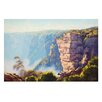 <strong>Canvas Painting Katoomba Cliff-Scape NSW on Canvas</strong> by Graham Gercken