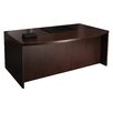 <strong>Mira Series Executive Desk with Bow Front</strong> by Mayline Group