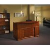 Mayline Group Sorrento Series Reception Desk with Veneer Counter