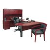 Mayline Group Luminary Series U-Shape Executive Desk Typical #16