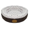 Best Pet Supplies Curl Plush Doughnut Dog Bed