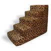 Best Pet Supplies Animal Print 5 Step Pet Stair