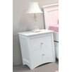 <strong>Magdalena 2 Drawer Bedside Table</strong> by By Designs