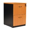 <strong>Stationery Wholesalers</strong> Ariel 2 Drawer Filing Cabinet