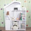 <strong>Kids Dollhouse Bookcase Book Shelf Storage Unit</strong> by All 4 Kids