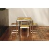 <strong>Plantation Dining Table with Fixed Legs</strong> by R+V Living