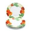 "Paula Deen Georgia's Bounty 12"" Dinner Plates (Set of 4)"