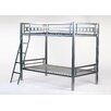 <strong>Bay Twin Over Twin Bunk Bed</strong> by 4D Concepts