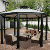 "<strong>Monte Carlo Four Season 10' 6"" H x 14' W x 14' D Gazebo</strong> by STC"