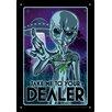 NMR Distribution Take Me To Your Dealer Tin Sign Vintage Advertisement