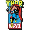 <strong>Marvel - Thor with Logo Magnet</strong> by NMR Distribution