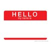 NMR Distribution Hello My Name Tin Sign Textual Art