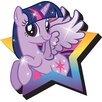 NMR Distribution My Little Pony - Twilight Sparkle Magnet