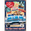<strong>I Love Lucy Road Trip Tin Sign Vintage Advertisement</strong> by NMR Distribution