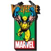 <strong>Marvel - Wolverine with Logo Magnet</strong> by NMR Distribution