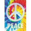 NMR Distribution Peace Words Tin Sign Graphic Art