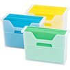 Iris Letter Size Desktop File Box (Set of 6)