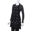 <strong>Skull and Crossbones Apron in Black and White</strong> by Sin In Linen